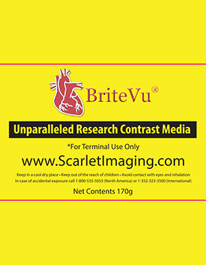 BriteVu high radio density contrast agent | Scarletimaging.com
